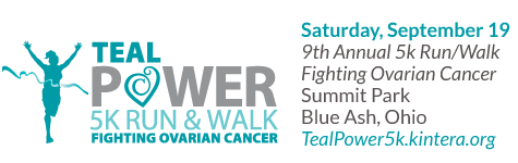 Teal Power 5k Run and Walk Fighting Ovarian Cancer
