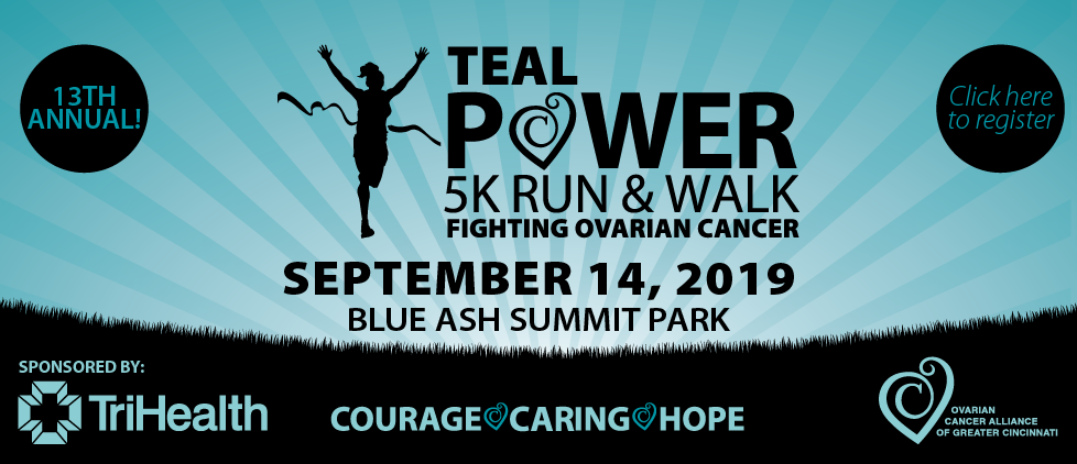 Teal Power 5k Run and Walk September 14, 2019